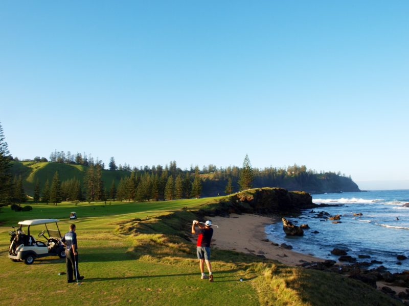 NORFOLK ISLAND GOLF Edited