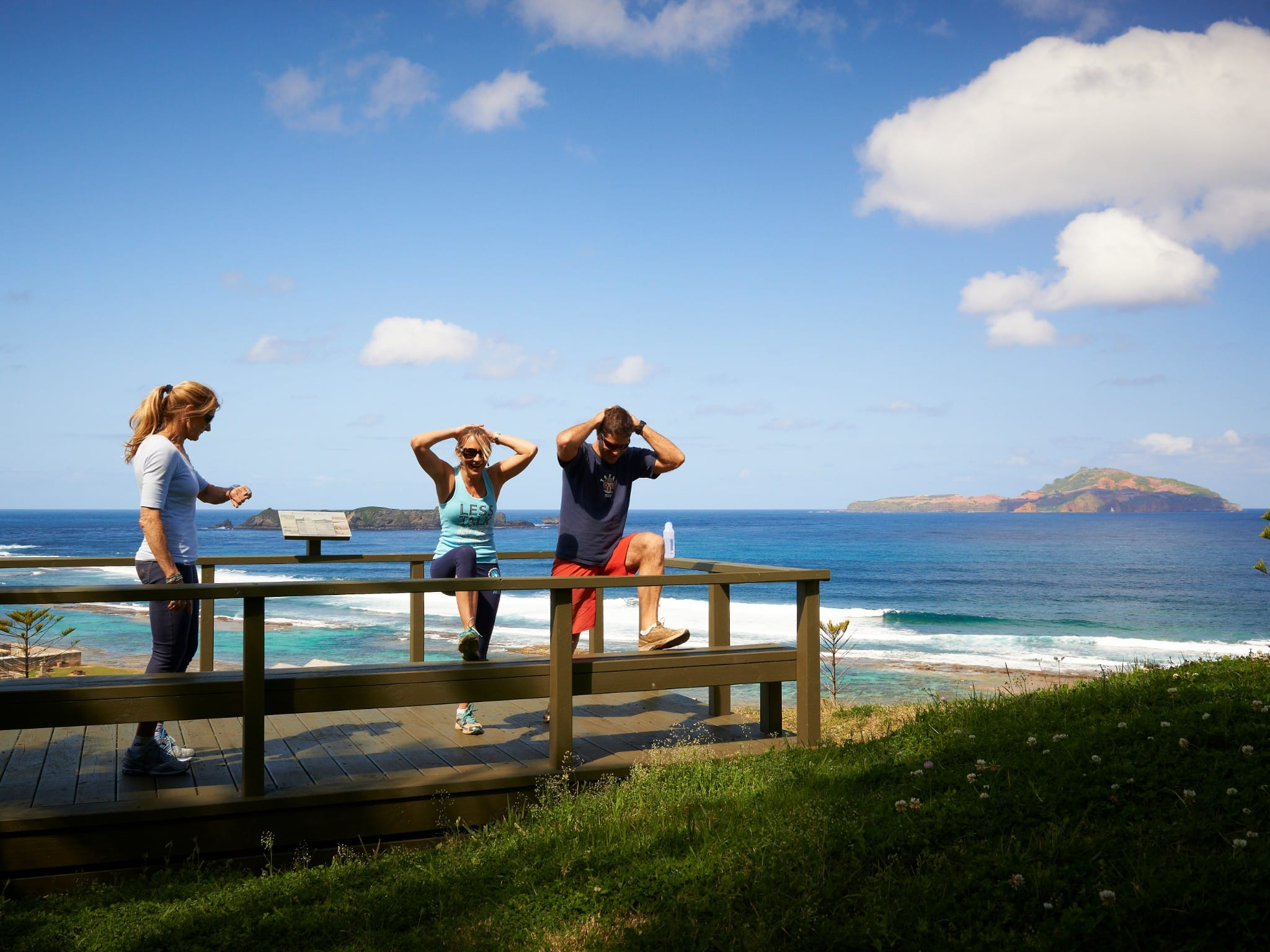 Norfolk Island Fitness Holiday