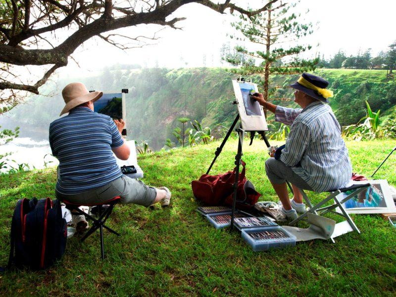 Norfolk Island Travel Centre Anson Bay Painters