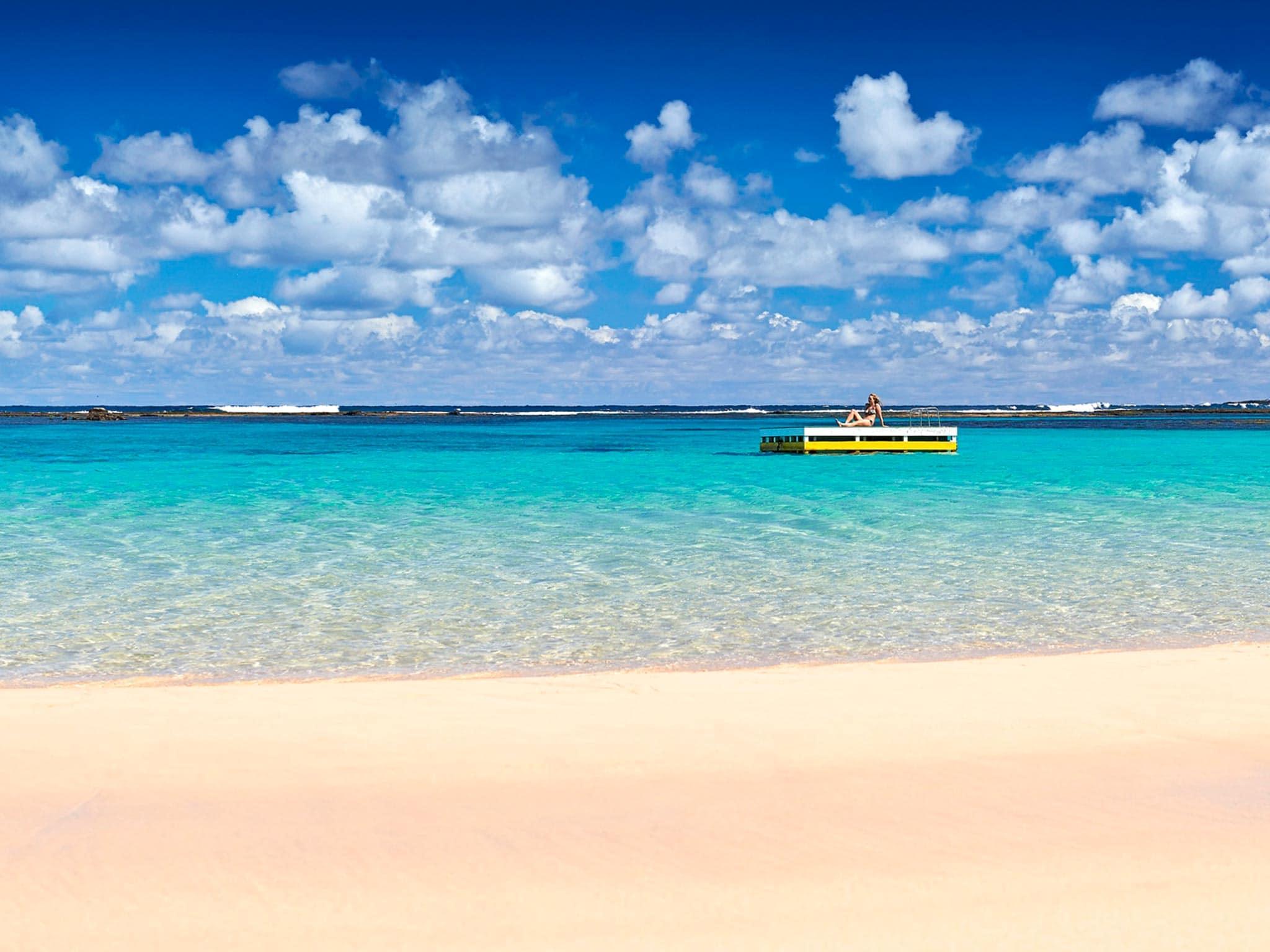 Norfolk Island Travel Centre Emily Bay Swimmer
