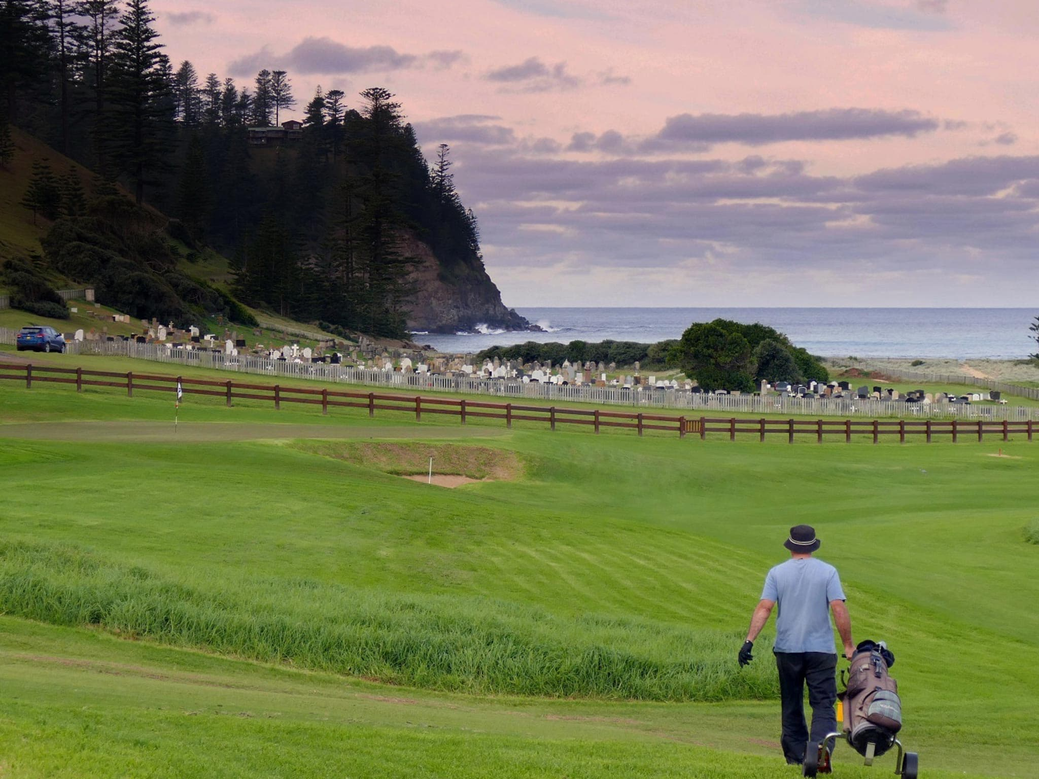 Norfolk Island Travel Centre Golf Course Cemetery