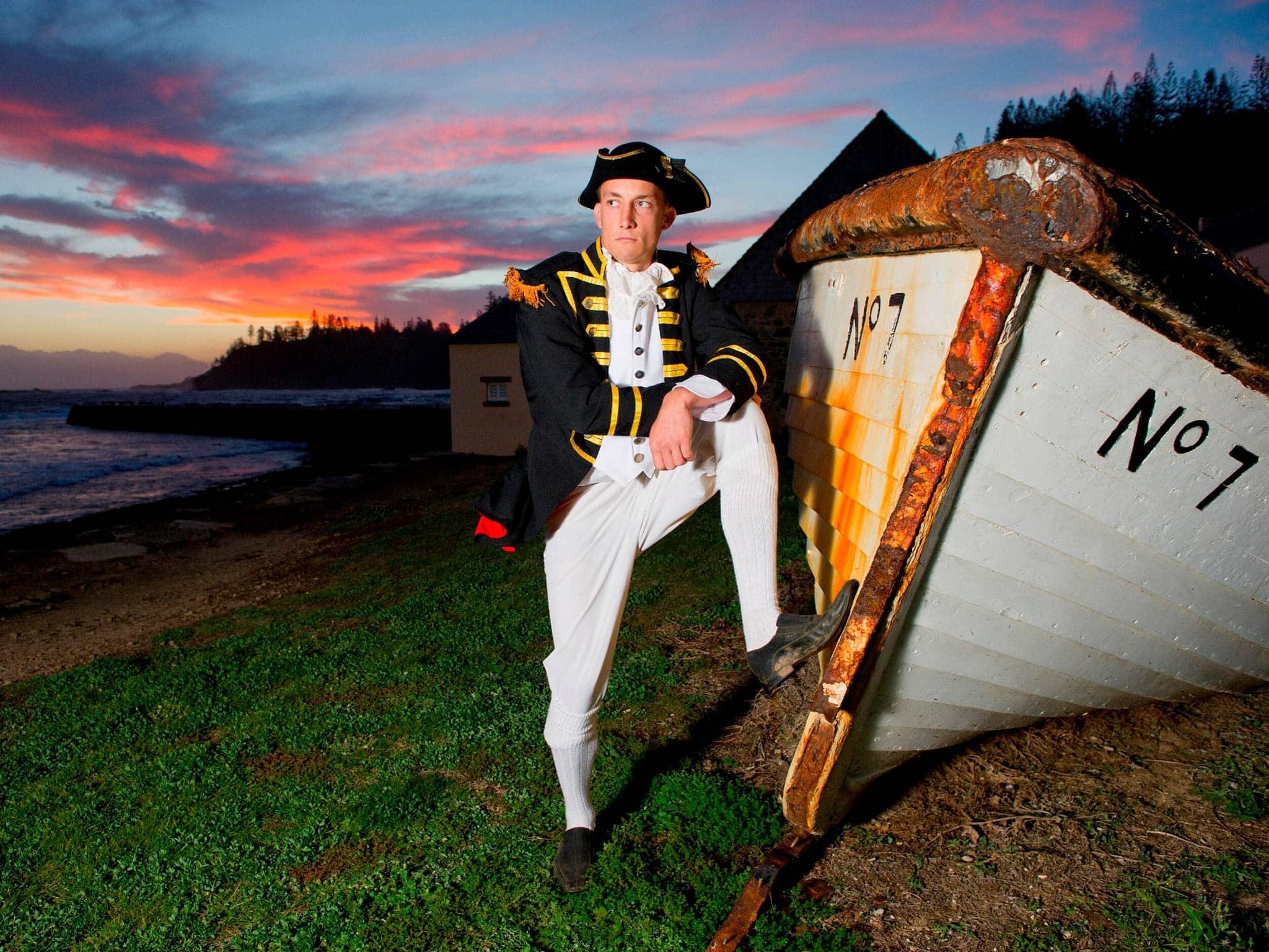 Norfolk Island Travel Centre Heritage Convict Sunset