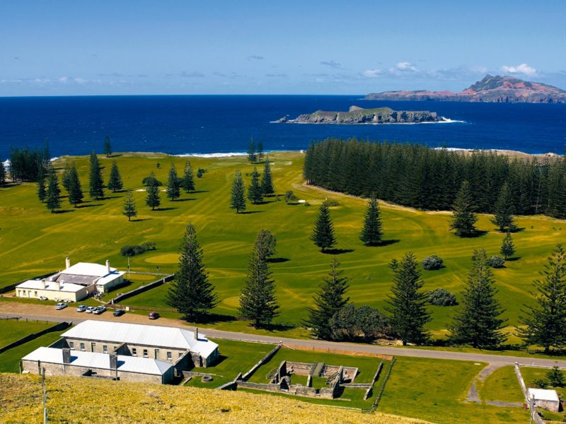 Norfolk Island Travel Centre Kingston View