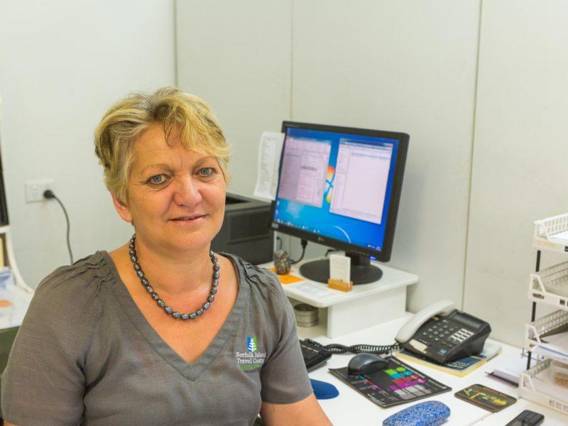 Norfolk Island Travel Centre Meet The Team Joyce