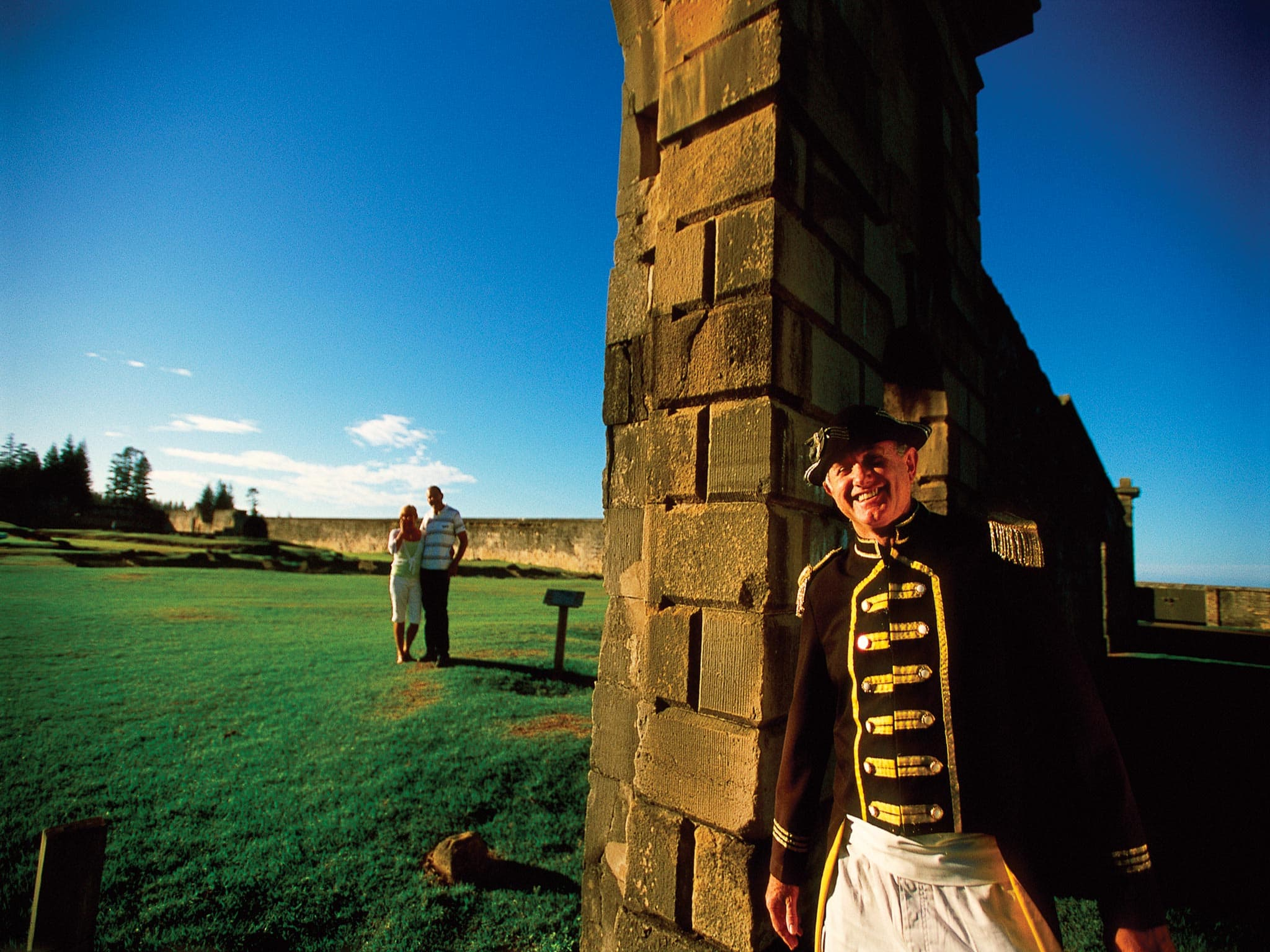 Norfolk Island Travel Centre Tours And Activities Convict Settlement Tour Pinetree Tours