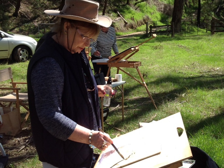 En Plein Air Julie Goldspink En Plein Air Near Healsville Vic. 640x640 2