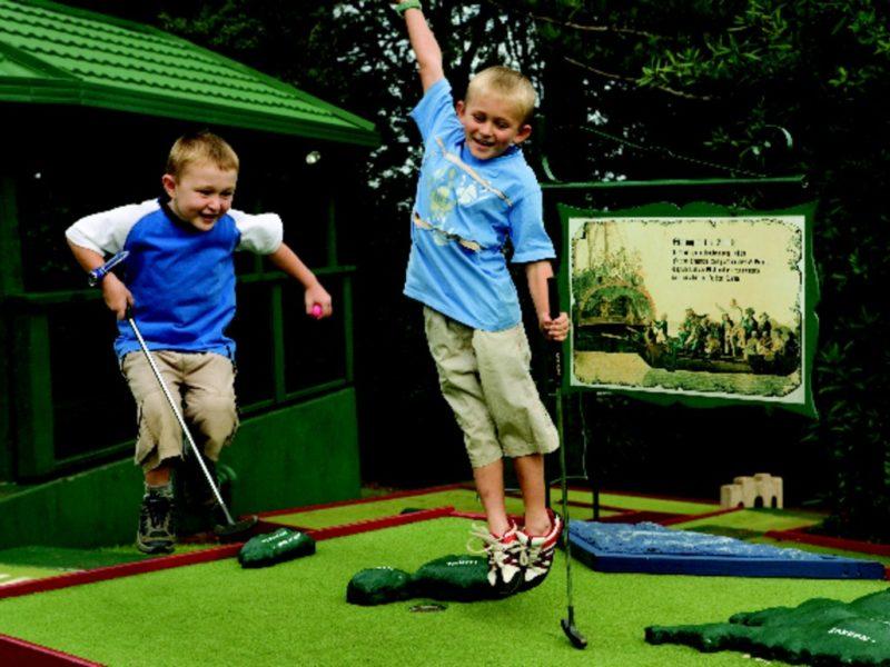 Norfolk Island Family Friendly Mini Golf Bounty Centre