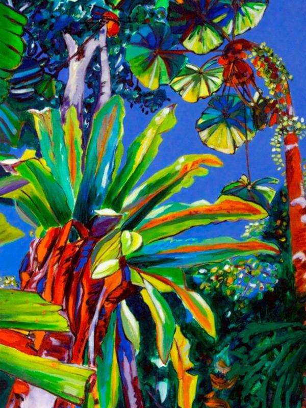 Norfolk Island Travel Centre En Plein Air Sylvia Ditchburn Tropical Splendour