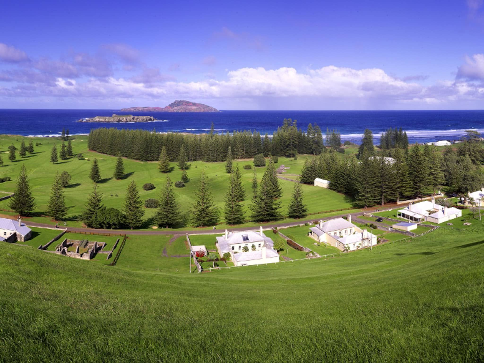 Norfolk Island Travel Centre Golf Course 7
