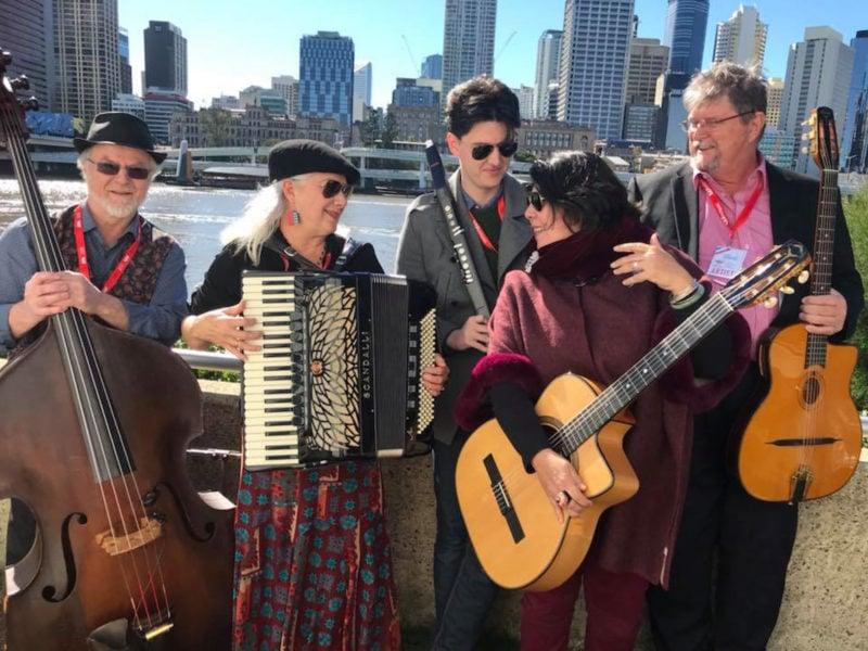Norfolk Island Travel Centre Norfolk Island Jazzes It Up Avalon Swing In Brisbane