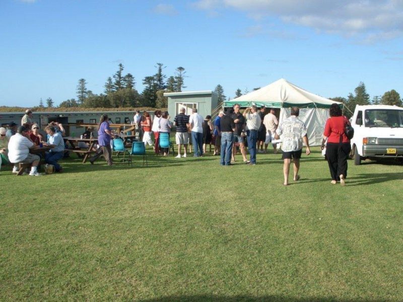 Norfolk Island Travel Centre Pistol Shooting Championships Visitors Welcome Fish Fry