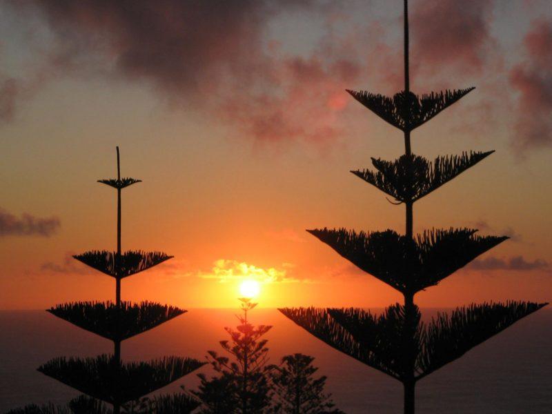 Norfolk Island Travel Centre Puppy Point Sunset