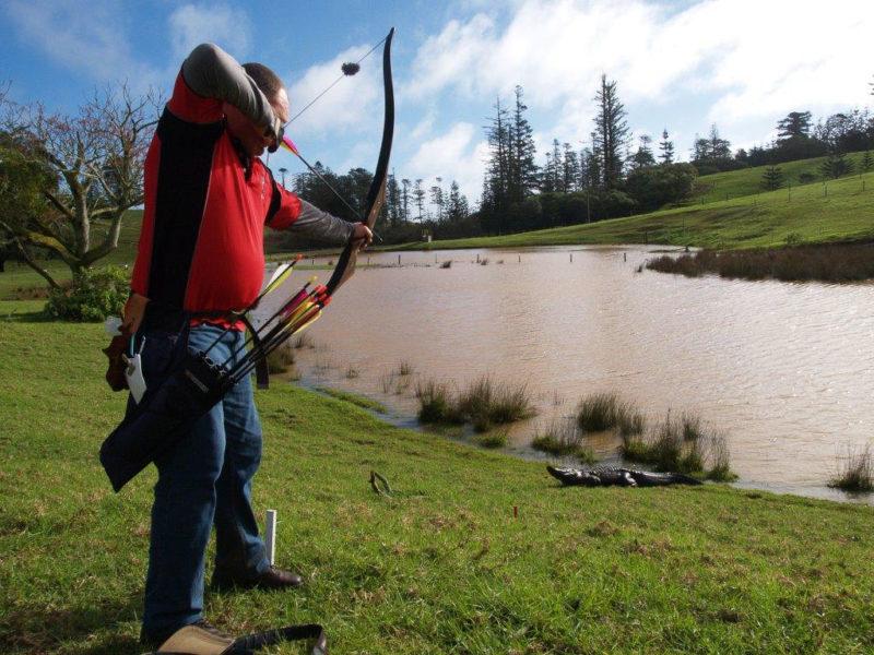 NorfolkIslandTravelCentre 3D Archery Championships Croc