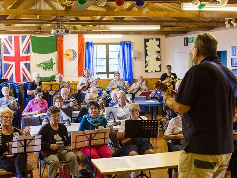 NorfolkIslandTravelCentre Autumn Ukulele Festival Session