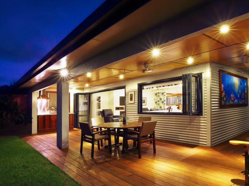 Tin Sheds Norfolk Island Travel Centre Deal Garden Eve2