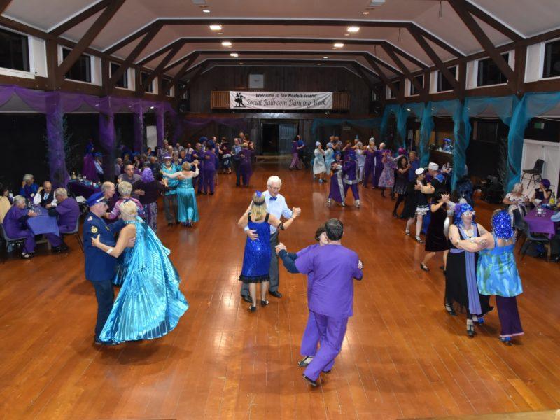 Norfolk Island Travel Centre Ballroom Dancing 2019