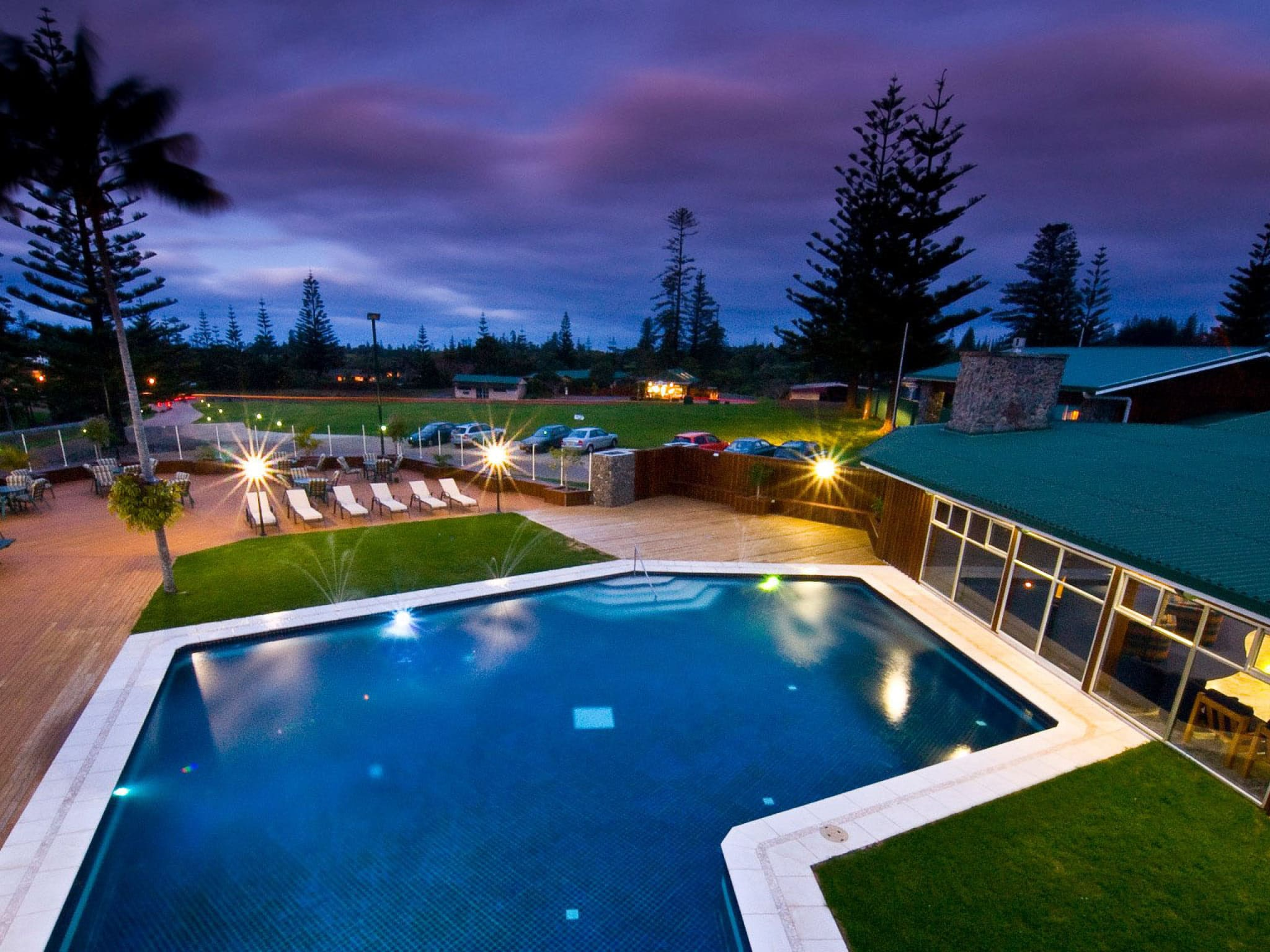 South Pacific Resort Hotel Norfolk Island Pool