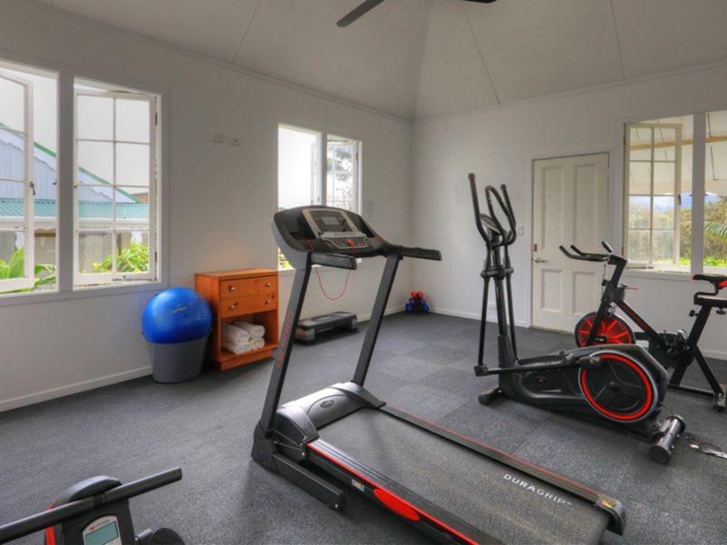 Fitness Room Castaway Hotel Norfolk Island