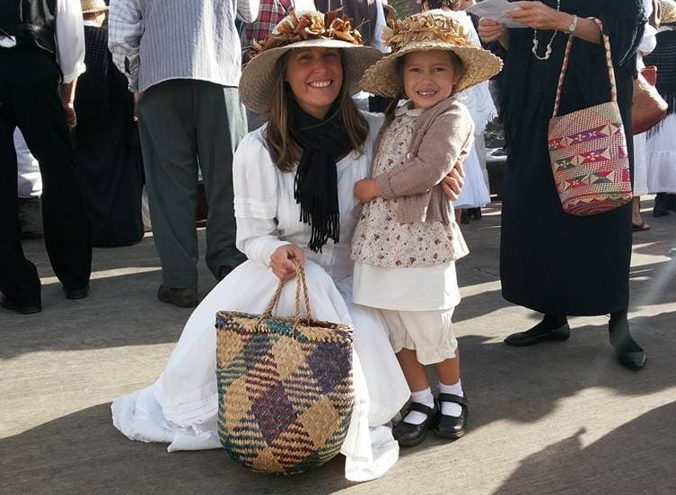NITC Travel Agent Chrissy with daughter on Bounty Day