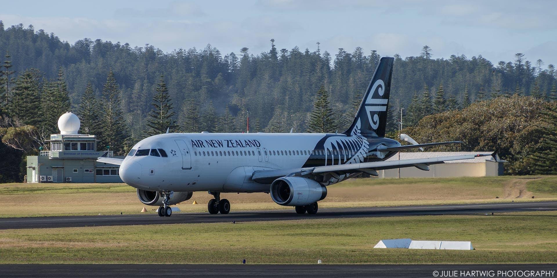 Julie Hartwig Norfolk Island 2018 Air NZ
